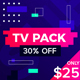 Active Glitch Broadcast Package - VideoHive Item for Sale