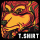 Wolf Master T-Shirt Design - GraphicRiver Item for Sale