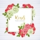Wedding Invitation with Wild Rose Flowers - GraphicRiver Item for Sale