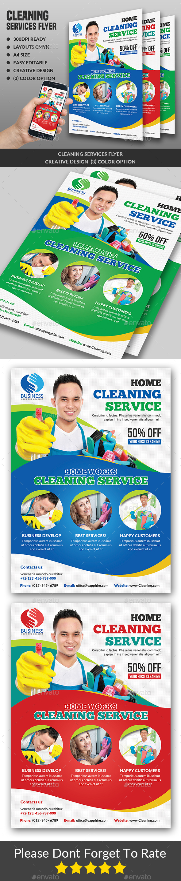House Cleaning Specialist Flyer - Corporate Flyers