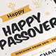 Happy Passover Flyer - GraphicRiver Item for Sale