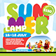 Kids Summer Camp Flyer/Poster