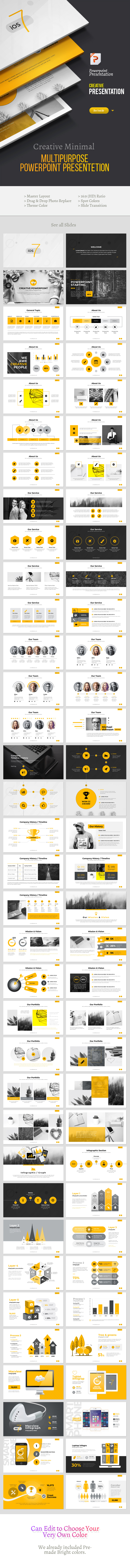 Creative Powerpoint Template - Business PowerPoint Templates
