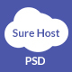 SureHost- Hosting Business PSD Template - ThemeForest Item for Sale