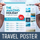 Travel Company Poster Template - GraphicRiver Item for Sale