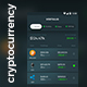 Cryptocurrency Management App UI Kit for Andoird & iOS | Vertulio - GraphicRiver Item for Sale