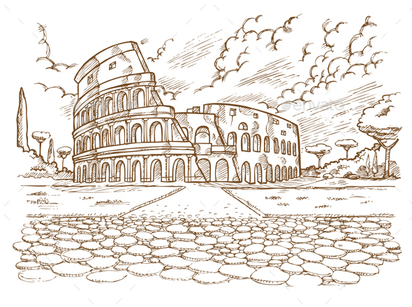 Colosseum - Buildings Objects