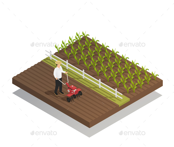 Farming Gardening Agricultural Equipment Composition - Industries Business