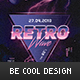 Retro Flyer/Poster - GraphicRiver Item for Sale