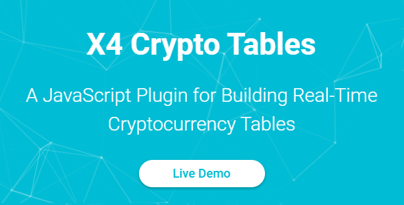 X4 Crypto Tables - JavaScript Plugin - CodeCanyon Item for Sale