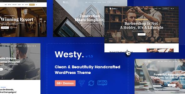Image of Westy - Responsive Multi-Purpose WordPress Theme
