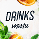 Drinks Menu - GraphicRiver Item for Sale