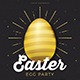 Easter Gold Party Flyer - GraphicRiver Item for Sale