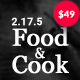 Food & Cook - Multipurpose Food Recipe WP Theme - ThemeForest Item for Sale
