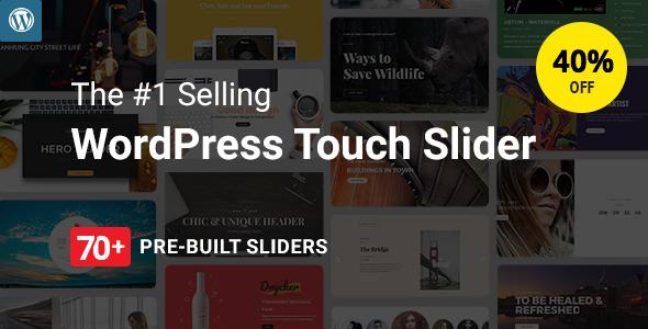 Master Slider - Touch Layer Slider WordPress Plugin - CodeCanyon Item for Sale