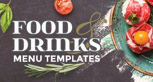 Food and Drinks Menus