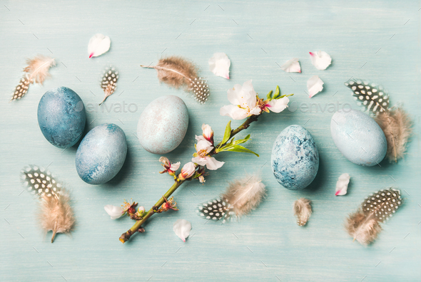 Easter holiday greeting card - Stock Photo - Images
