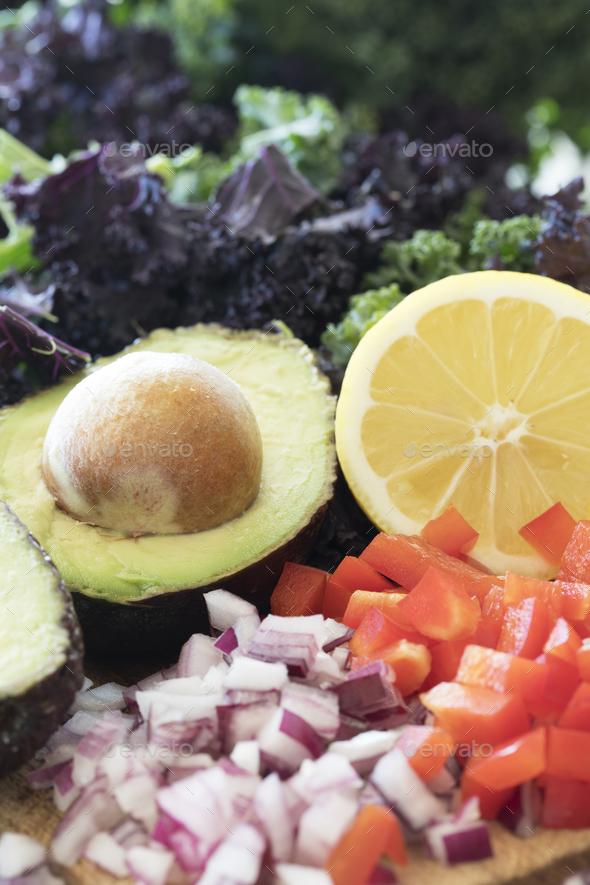 Avocado and Fresh Lemon - Stock Photo - Images