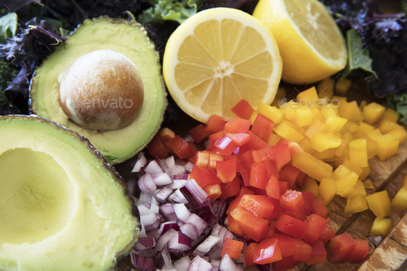 Healthy Salad Ingredients - Stock Photo - Images