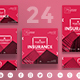 Insurance Company Social Media Pack - GraphicRiver Item for Sale