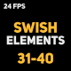 Liquid Elements Swishes 31-40 - VideoHive Item for Sale