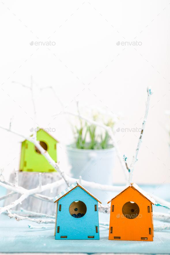 Bird house - Stock Photo - Images