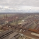 Aerial View of Industrial Steel Plant - VideoHive Item for Sale
