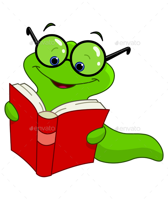 Book Worm - Animals Characters