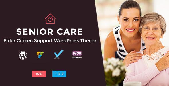 Senior Care - Elder Citizen Support WordPress Theme