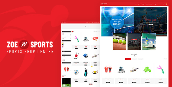 Image of Zoe - Sport Store Shopify Theme