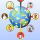 Multinational World Culture Design Concept