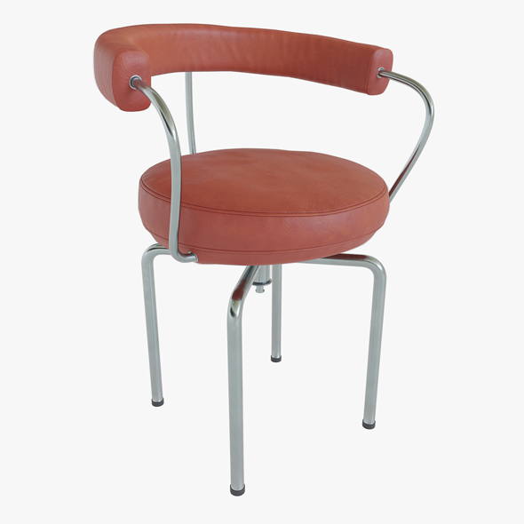 Red stool - 3DOcean Item for Sale