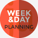 Week and Day Planning PowerPoint Presentation Template - GraphicRiver Item for Sale