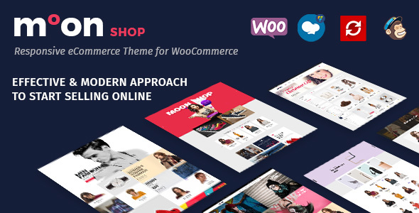 Moon Shop - Responsive eCommerce WordPress Theme for WooCommerce - WooCommerce eCommerce