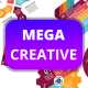 Mega Creative Infographic - GraphicRiver Item for Sale