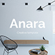 Anara Creative Google Slide Template - GraphicRiver Item for Sale