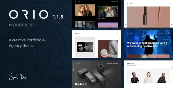 Image of Orio - A creative Portfolio & Agency Theme