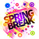 Spring Break Flyer Template Vol.2