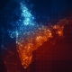 Pack India Maps Night Lighting 4K - VideoHive Item for Sale