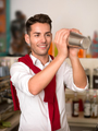 attractive bartender mixing a drink - PhotoDune Item for Sale