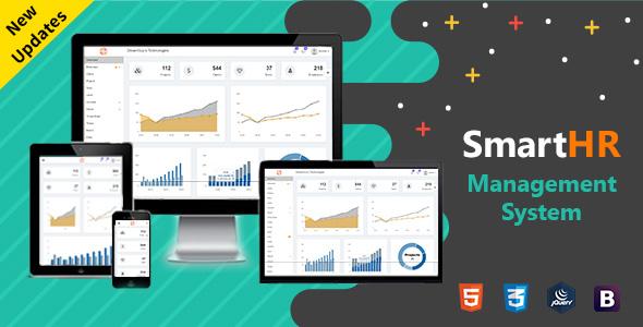 SmartHR - Bootstrap Admin Panel Template