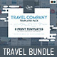 Travel Company Templates Bundle - GraphicRiver Item for Sale