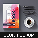 A4 Book Mock-Up Set 2 (Hardcover) - 2018 Edition - GraphicRiver Item for Sale