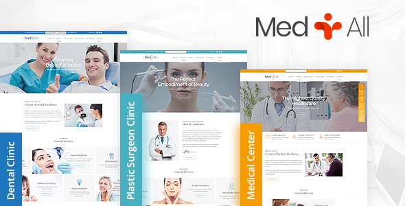 MedAll - Medical, Dental, Plastic Surgery HTML Website Template - Health & Beauty Retail
