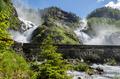 Latefossen twin waterfall in Norway - PhotoDune Item for Sale