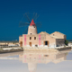 Mill next to the salt pans of Trapani on Sicily - PhotoDune Item for Sale