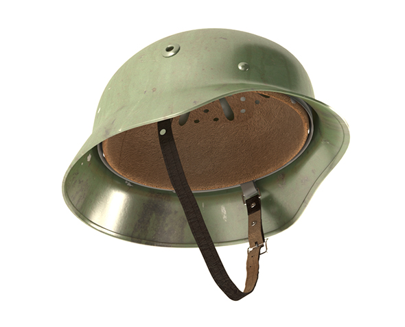 German helmet M-35 - 3DOcean Item for Sale