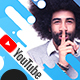 4 Creative Modern YouTube Banners - GraphicRiver Item for Sale