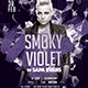 Smoky Violet Party - Poster & Flyer Templates - GraphicRiver Item for Sale