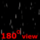 Rain Photoreal 180 Degree Camera Angle - VideoHive Item for Sale